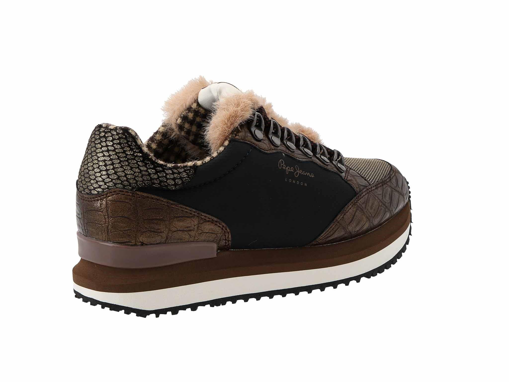 Sportcipő PEPE JEANS Zion Fur PLS30905 Biscuit 850