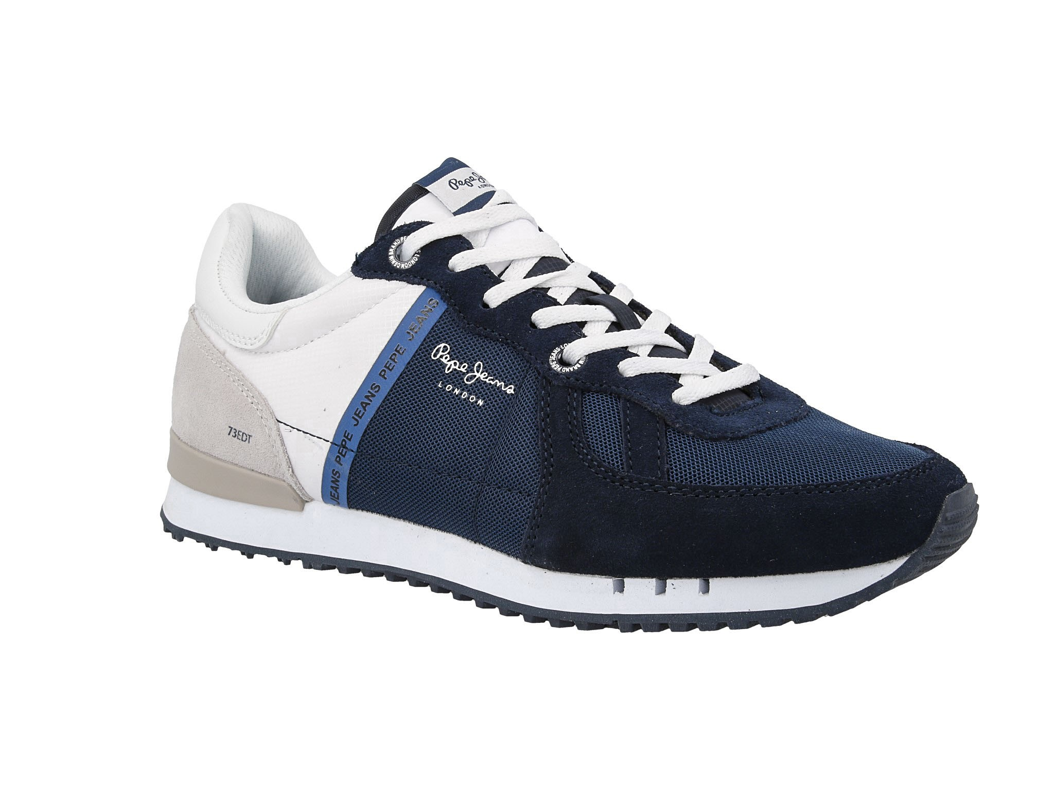 Sneakersy PEPE JEANS Tinker Zero Seal PMS30508 Midnight