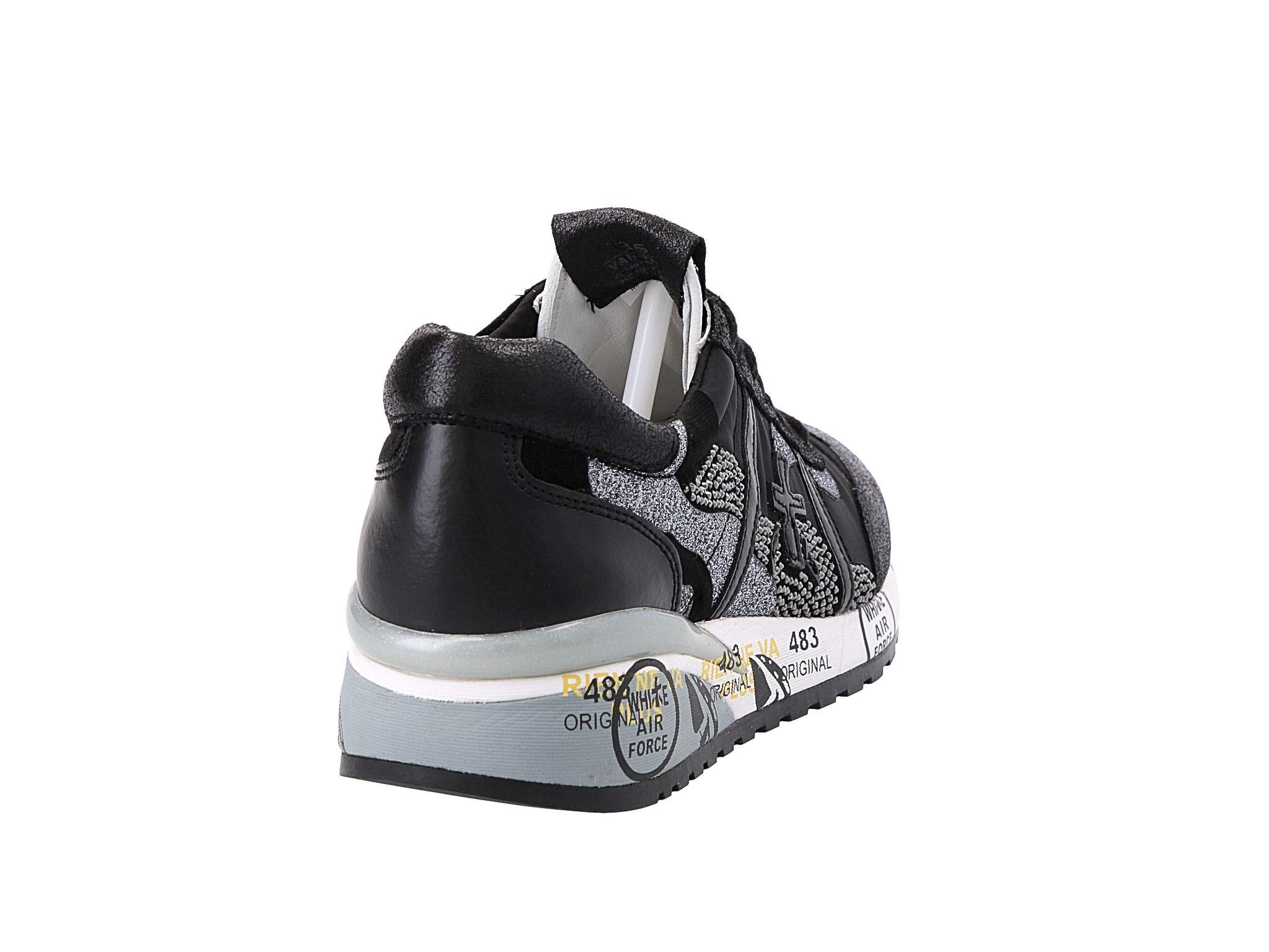 Sportcipő PREMIATA - Roxane 3310 Fekete - Sneakers - Félcipő - Női