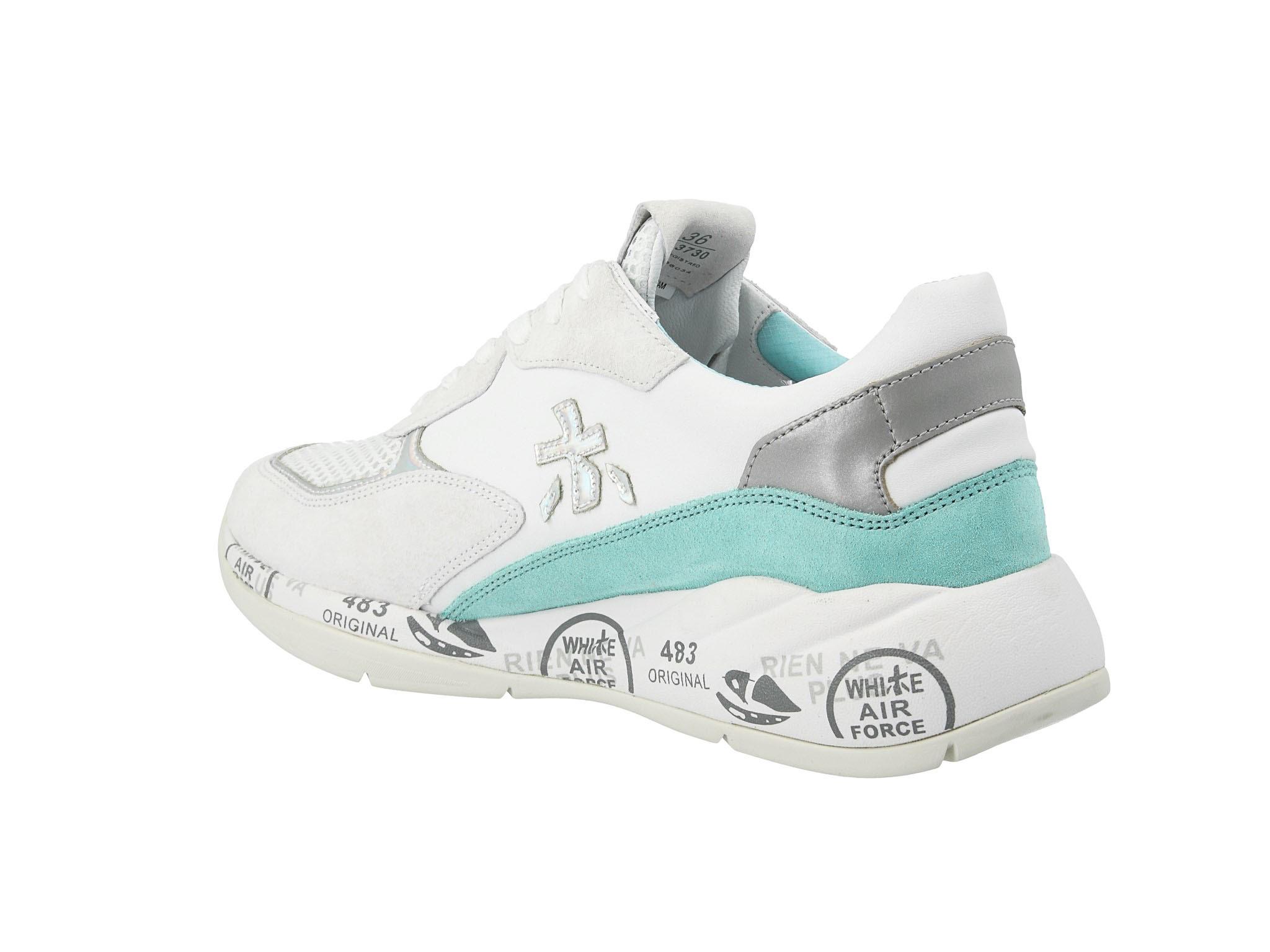 Sneakersy PREMIATA Scarlett 3730 Biały Sneakersy