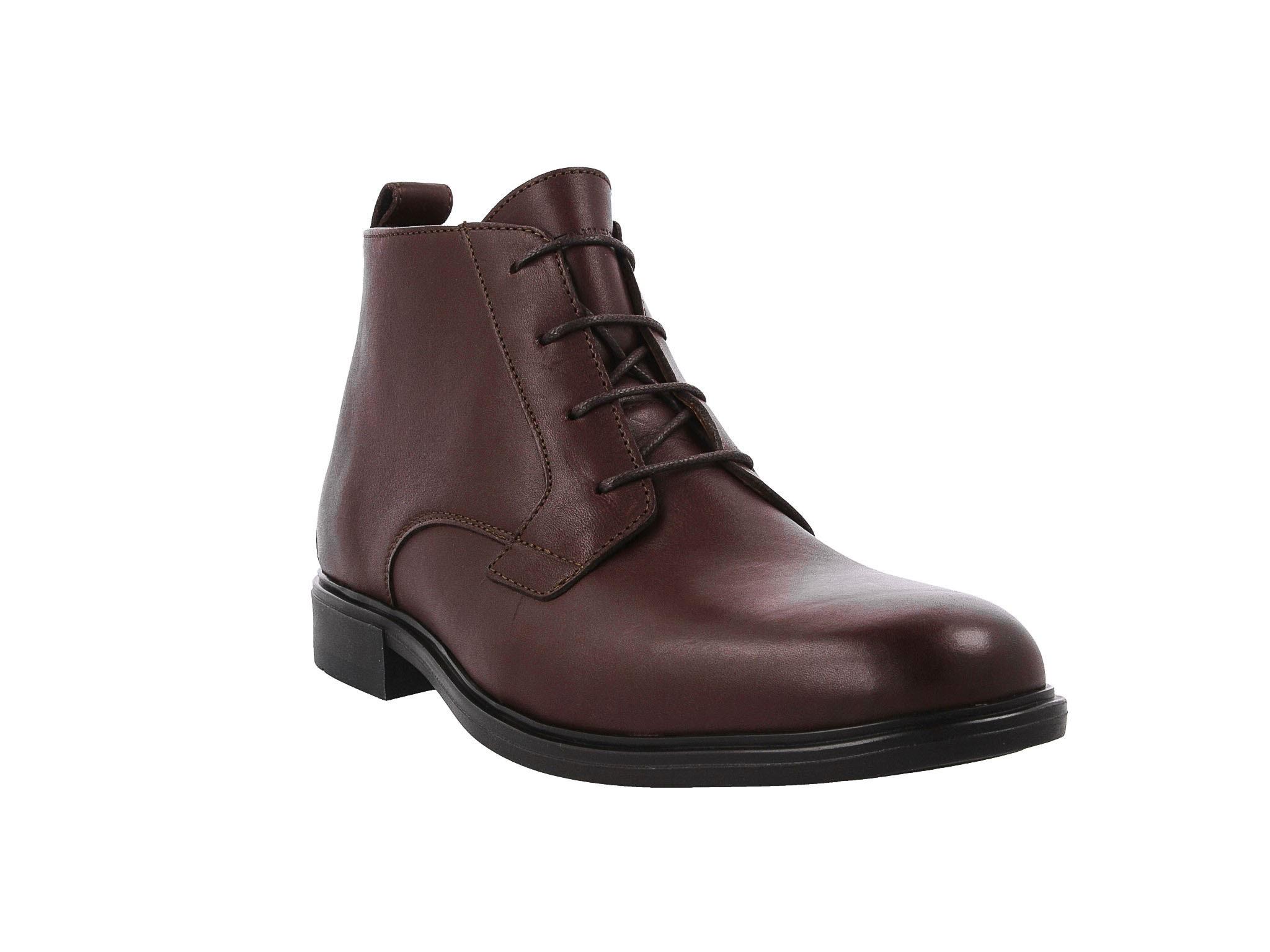 Kozaki TOMMY HILFIGER - Color Block Heel Leather Boot FM0FM01602 Coffee 211