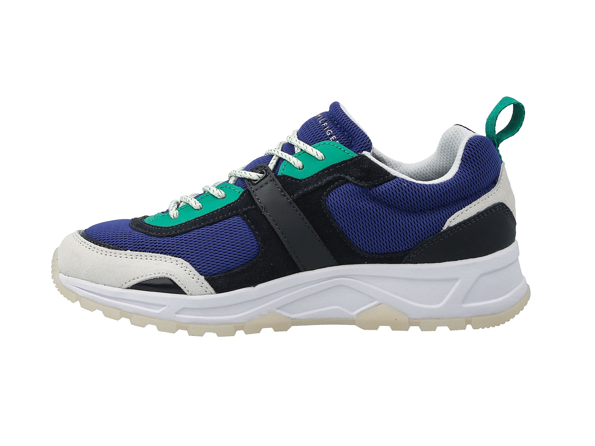 Sneakersy Hilfiger Midnight Tommy Sneaker Mix Fashion Fm0fm02027 TuOPXiwkZl