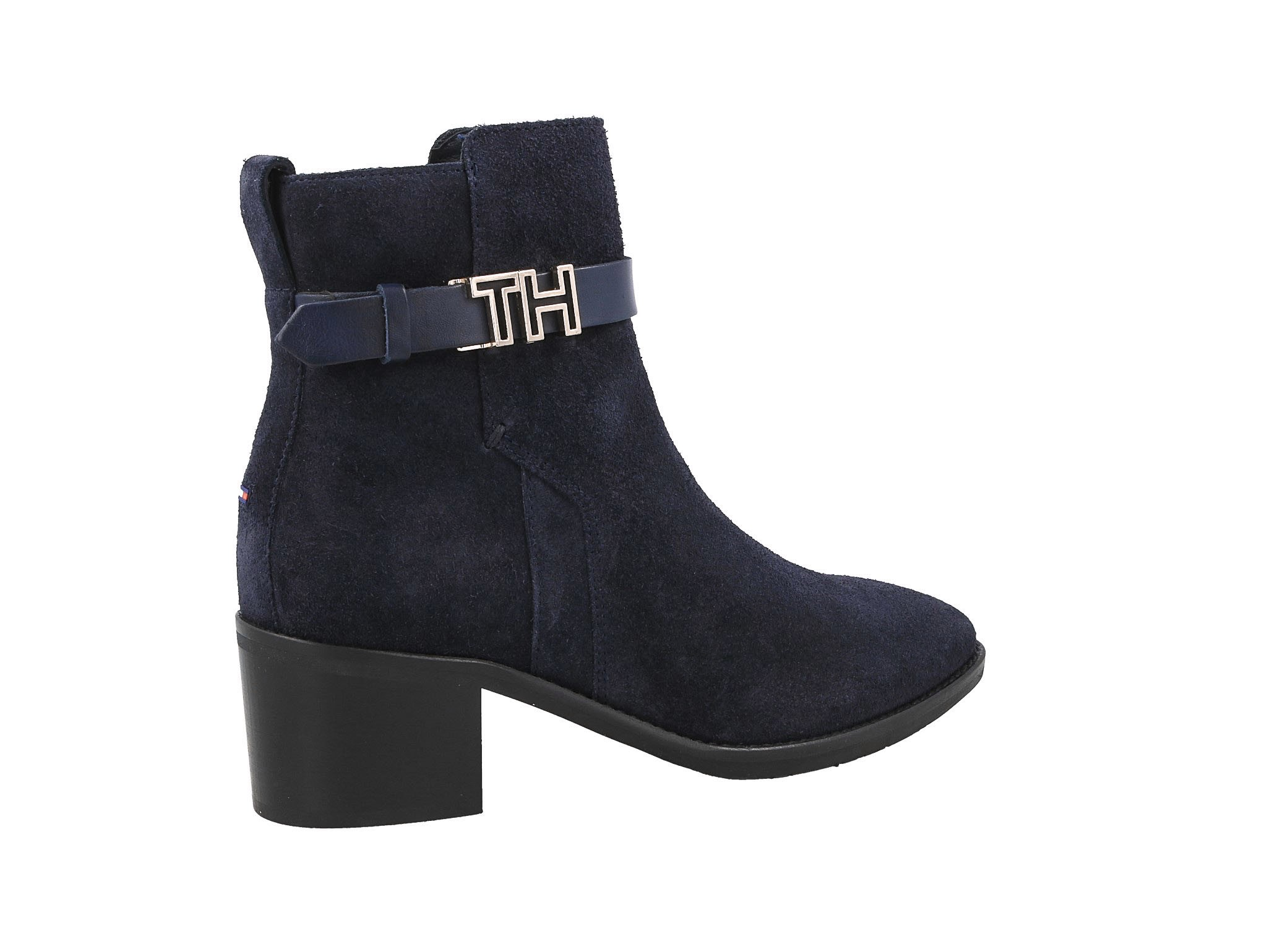 Tommy Hilfiger Th Hardware Suede Bootie (FW0FW04285
