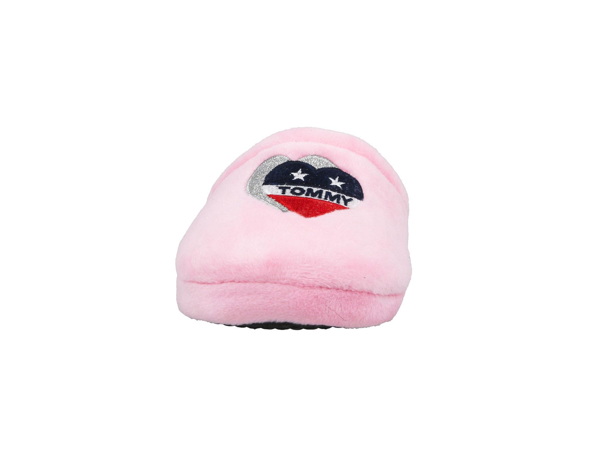Kapcie TOMMY HILFIGER - T3A1-30544-0810 Pink 302