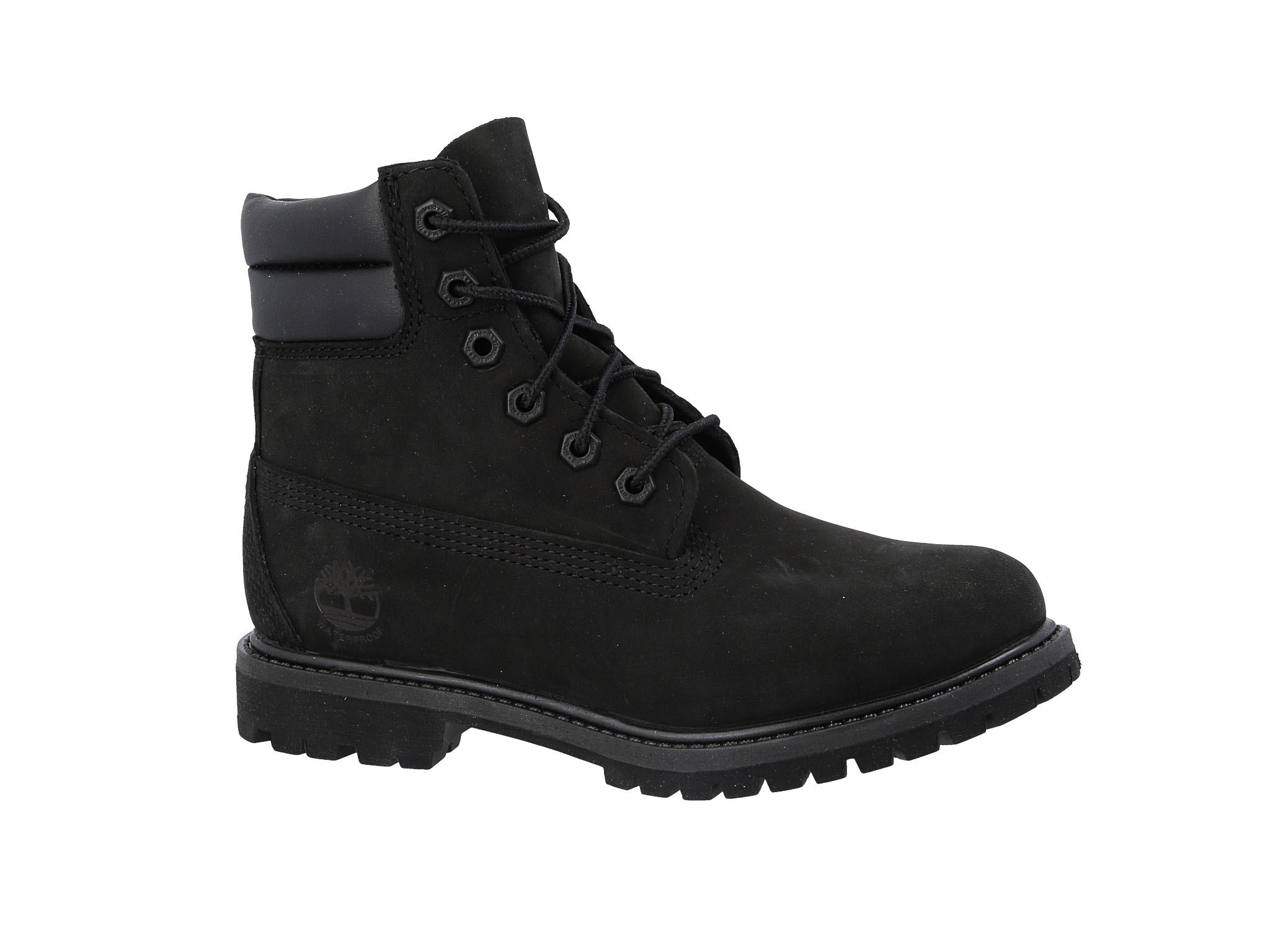 Bakancs TIMBERLAND Waterville 6 In Waterproof Boot TB0A15QY0011 Black Nubuck